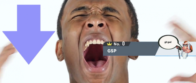 Smash Ultimate Player Drops to Zero GSP After Losing A